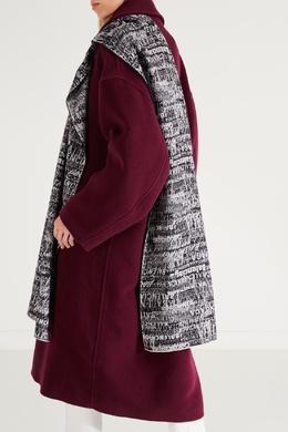 Черно-белый шарф Balenciaga 397147826