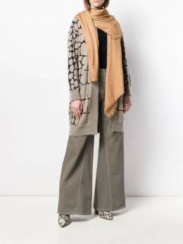 Faliero Sarti - шарф с добавлением кашемира 6683AZZURRAU95535969