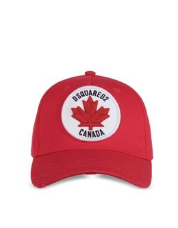 Cargo Canada - Бейсболка из Габардинового Хлопка Dsquared2 BCM0214 / 05C00001 4065 red