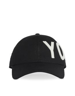 Y-3 Yohji - Черная Кепка FH9271 BLACK