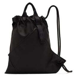 Issey Miyake Men Black Kinchaku Backpack 192728M16600201GB