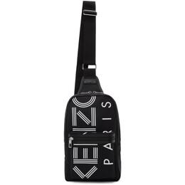 Kenzo Black Nylon Sport Backpack 192387F04200801GB