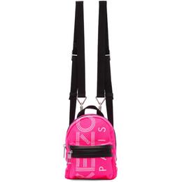 Kenzo Pink Mini Logo Backpack 192387F04200401GB