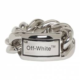 Off-White Silver Sweetheart Ring 192607F02400502GB