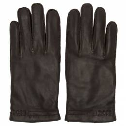 Boss Brown Karton3 Gloves 192085M13500505GB