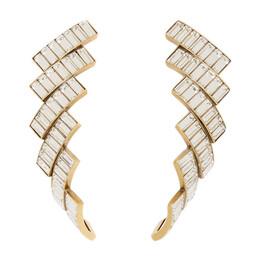 Balenciaga Gold Evening Earrings 192342F02200401GB