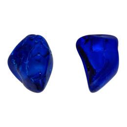 Balenciaga Blue Rock Earrings 192342F02200701GB