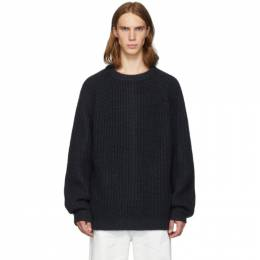 Marni Navy Wool Costan Sweater 192379M20100303GB