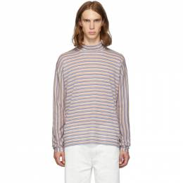 Marni Multicolor Striped Turtleneck 192379M20500202GB