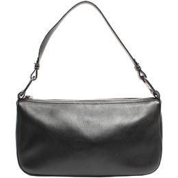 Salvatore Ferragamo Black Leather Shoulder Bag 220157