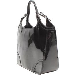 Salvatore Ferragamo Black Patent Leather Tote Bag 220145