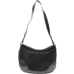 Salvatore Ferragamo Black Leather Shoulder Bag 220140