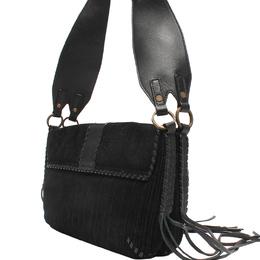 Givenchy Black Leather Crossbody Bag 220044