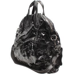 Givenchy Black Patent Leather Shoulder Bag 220042