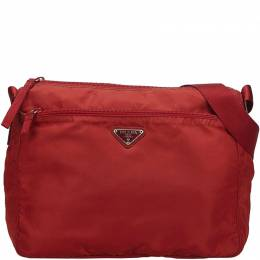 Prada Red Nylon Crossbody Bag 219581