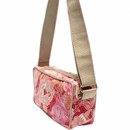 Etro Multicolor Paisley Printed Canvas Crossbody Bag 220014