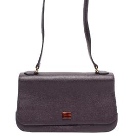 Etro Black Leather Crossbody Bag 220017