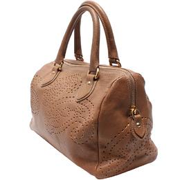 Etro Brown Leather Boston Bag 220026