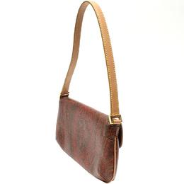 Etro Brown Paisley Printed Coated Canvas Shoulder Bag 220021