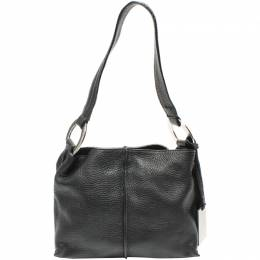Furla Black Leather Shoulder Bag 220035