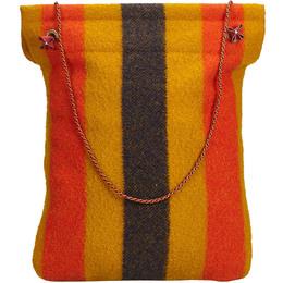 Hermes Multicolor Wool Canvas Rocabar Aline Grooming Bag 213911