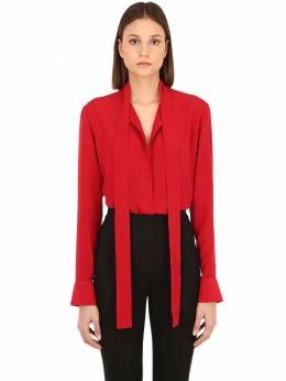 Рубашка Из Шёлкового Жоржета Haider Ackermann 70IA7U008-MDI20