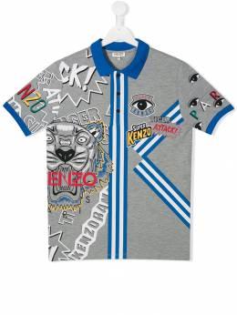 Kenzo Kids футболка с логотипом KP1151825