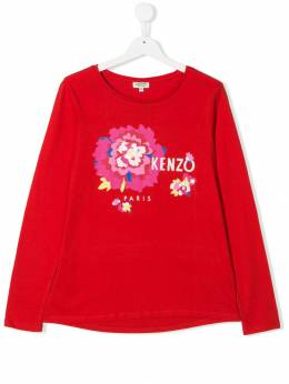 Kenzo Kids толстовка с логотипом KP1006838