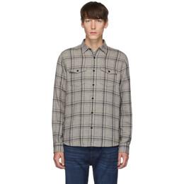 Frame Grey Double Flap Pocket Shirt 192455M19200403GB