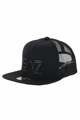 Черная бейсболка с объемным логотипом Ea7 2944149743