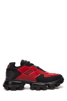 Красно-черные кроссовки Cloudbust Thunder Prada 40150684