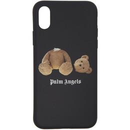 Palm Angels Black Kill The Bear iPhone X Case 192695M15300501GB
