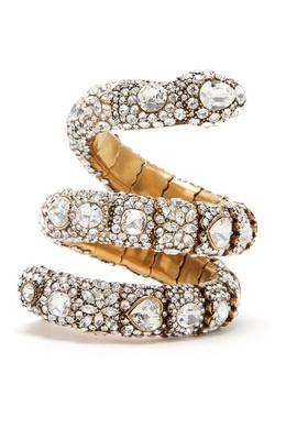 Изогнутый браслет в виде змеи Gucci 470150786