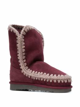 Mou - whipstitched ankle boots SKIMO059305833300000