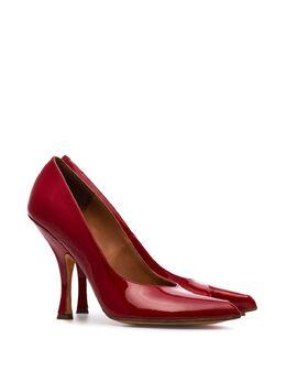 Y/Project - туфли-лодочки с вырезной деталью 110' NDAL0S95L69RED933655
