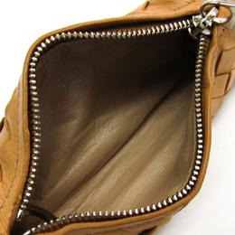 Bottega Veneta Beige Intrecciato Lamb Leather Coin Wallet 222950
