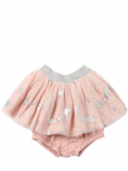 Юбка Из Тюля С Принтом Stella McCartney Kids 70I6SG018-NTc3Mw2