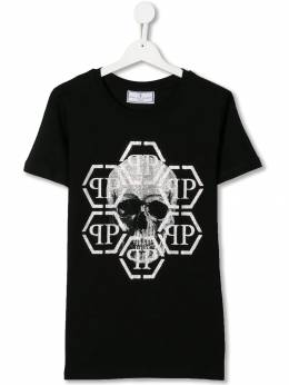 Philipp Plein Junior футболка с логотипом F19CBTK0714PJY002N