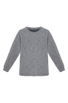 Трикотажный серый свитшот Lu Kids 1979150815