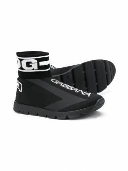 Dolce & Gabbana Kids кроссовки с логотипом DA0751AA103
