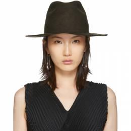CherevichkiOtVichki Brown Felt Hat 192854F01700201GB