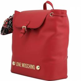 Love Moschino Red Synthetic Leather Backpack Raymond Weil 224226