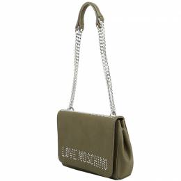 Love Moschino Brown Pebbled Synthetic Leather Shoulder Bag Raymond Weil 224237