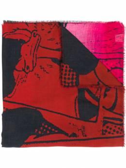 Faliero Sarti шарф с принтом I202247
