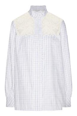 Блузка с кружевной вставкой Sandro 914151448