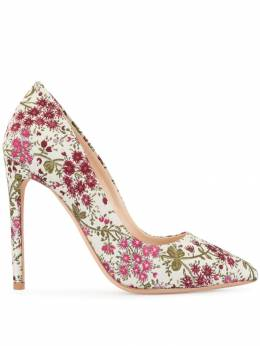 Giambattista Valli туфли-лодочки с цветочной вышивкой GBVI315899