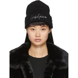Yohji Yamamoto Black New Era Edition Beanie 192573F01400101GB