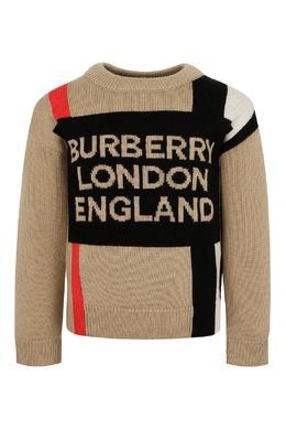 "Вязаный свитер ""Burberry"" Burberry Kids 1253151917"