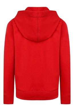 Красное худи на молнии Ralph Lauren Kids 1252151603
