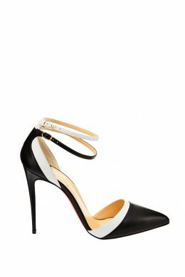 Черные туфли Uptown Double 100 Christian Louboutin 10689740